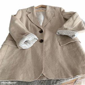 Linen Jacket worn once H&M